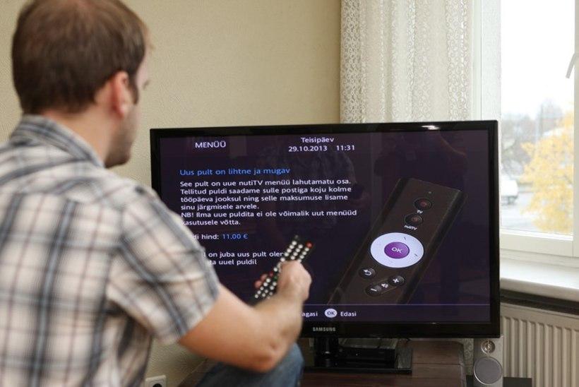 Elioni kliendid pahased: uue nutiTV vaatamiseks tuleb uus pult osta