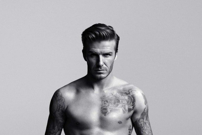 Ettevaatust, seksikad pildid! Beckham ja Ronaldo poseerivad enda disainitud pesus!
