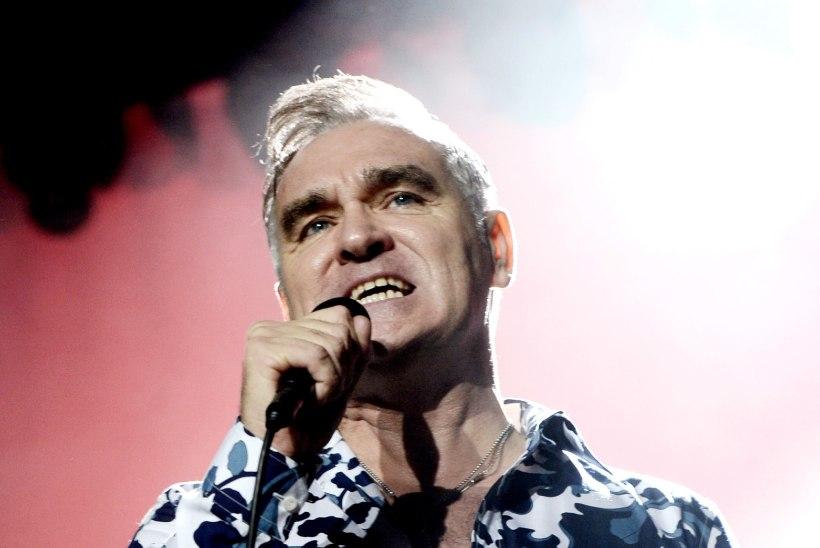 Morrissey sattus haiglasse