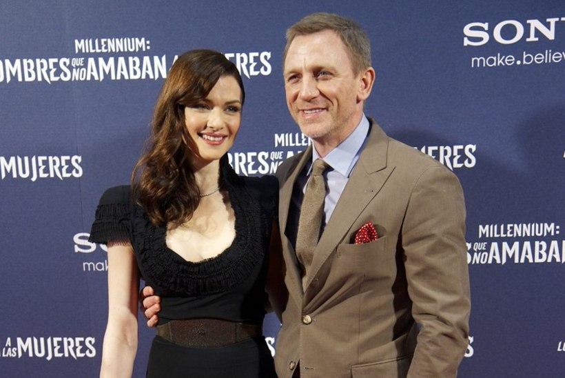 Rachel Weisz ja Daniel Craig magavad eraldi