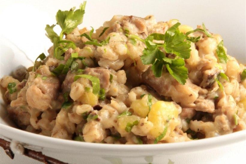 Kruubipuder sealiha ja kartuliga