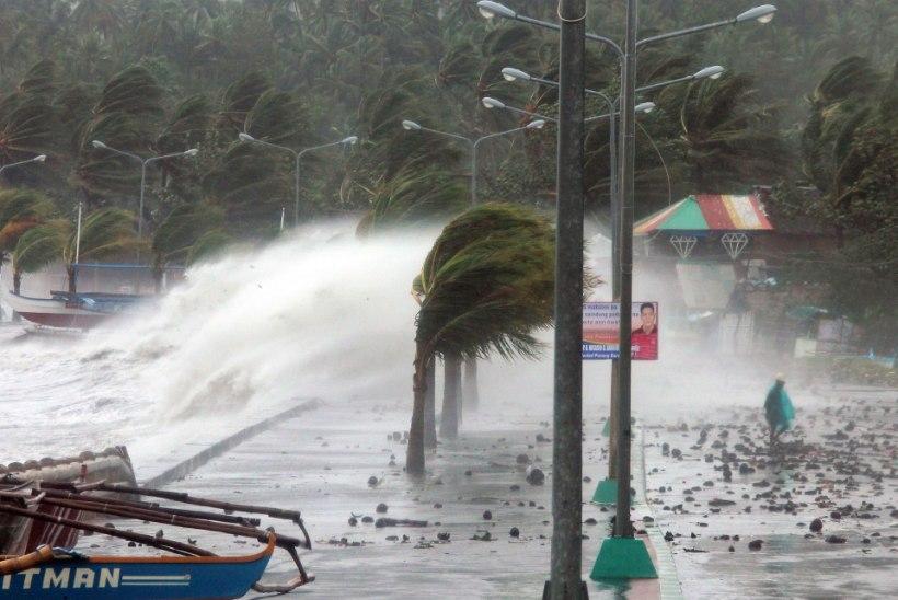 GALERII: koletislik taifuun Filipiinidel