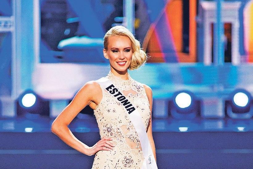 Kristina Karjalainen magab enne «Miss Universumi» finaali korralikult