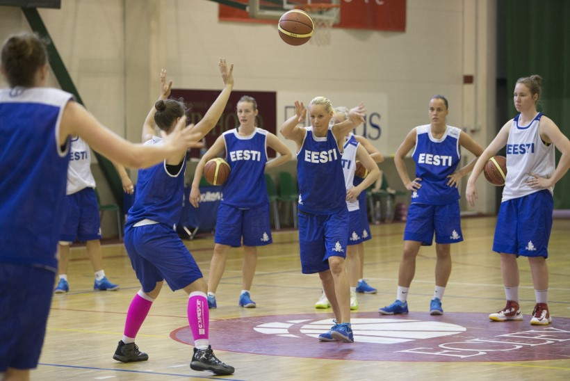 Naiste korvpallikoondis kohtub valiksarjas Läti, Itaalia ja Portugaliga