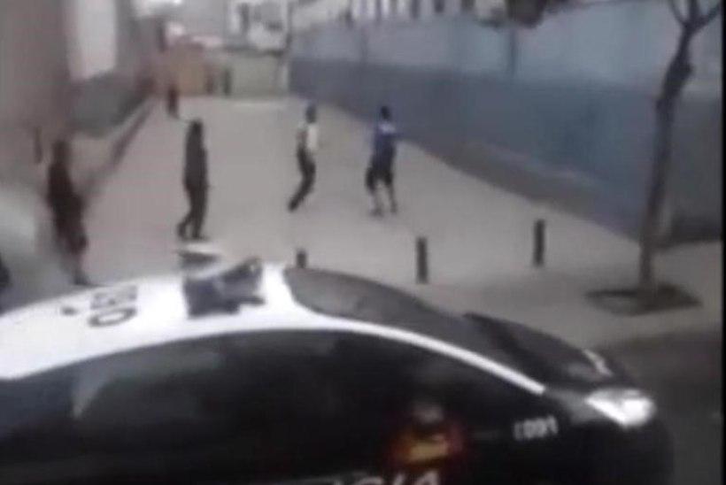 VIDEO: politseinik unustas käsipiduri