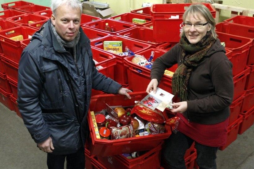 Konkurents missugune: linnavõim teeb Lasnamäele oma toidupanga