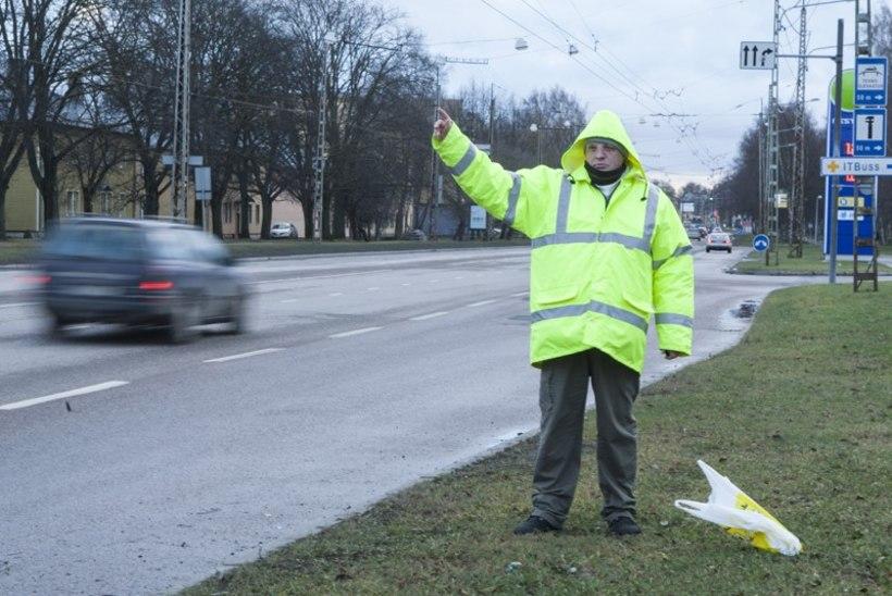 Jõuluööl hääletaja: võhivõõras viis mind ekstra Pärnusse ja andis veel hotellirahagi!