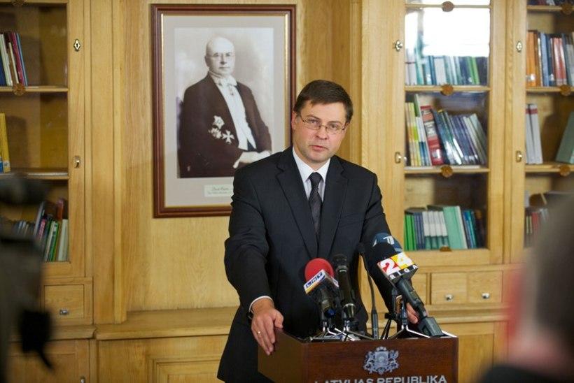 Dombrovskis kuulutas Maximale boikoti