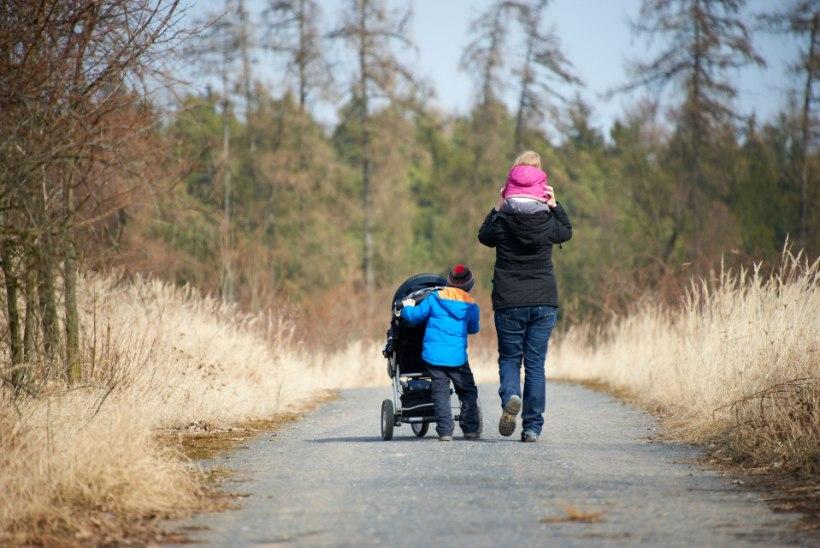 Üksikema: pere toitmine on tõeline eluga jõukatsumine!
