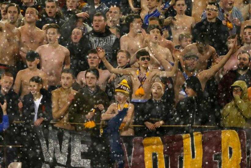 Anieri koduklubi tribüüni lammutanud vutihuligaanid said staadionikeelu