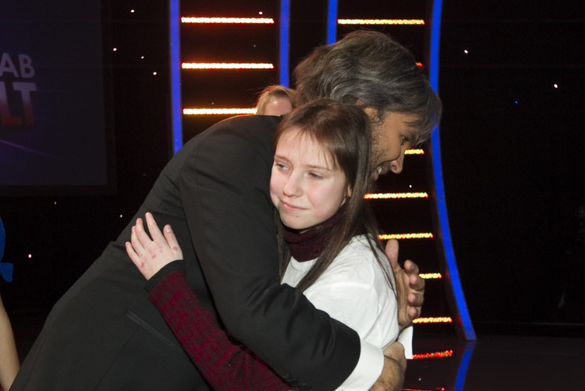 Beriti unistus täitus – ta kohtus Koit Toomega ja sai kallistuse