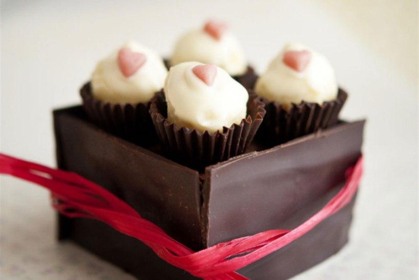 Šokolaadikarp Valentinile