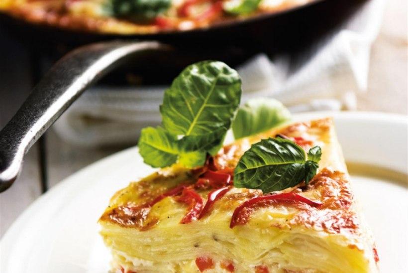 Paprika-kartulitortilja