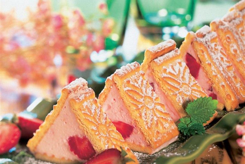 Maasika-küpsisekook II