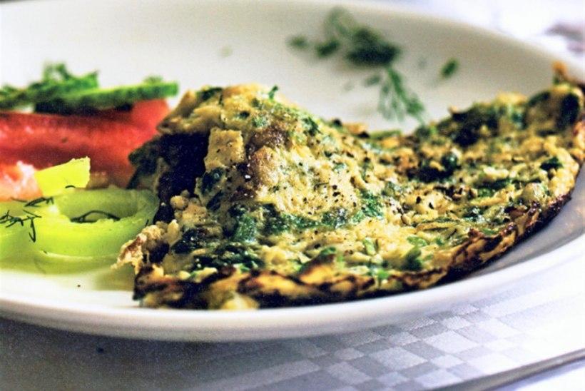 Roheline kjükjü ehk munad Kaukaasia moodi