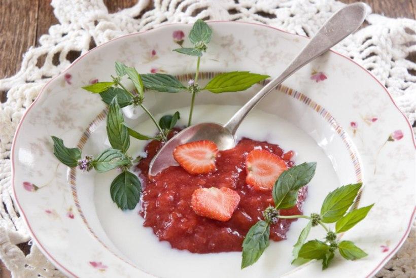 Magus maasikapuder