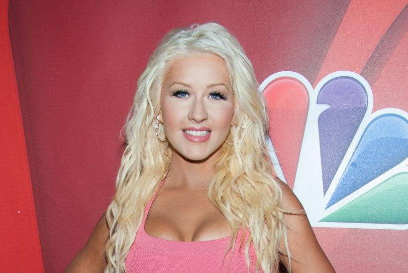 Christina Aguilera ei viitsi trenni teha