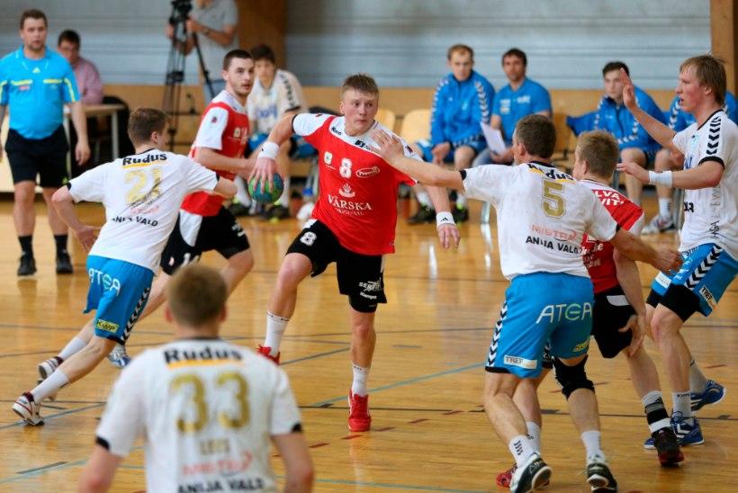 Käsipalli Eesti karikasarjas jäi surmaloos ära