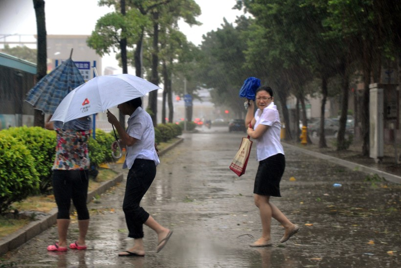 Võimsa taifuuni tõttu on Hiinas kaks inimest hukkunud