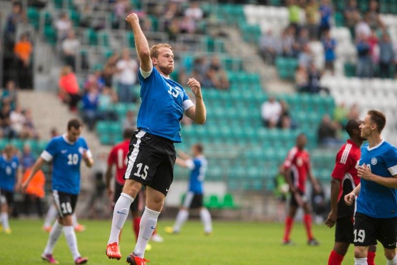 VIDEO: Anier andis Šotimaal väravasöödu, Puri sai Inglismaal platsile
