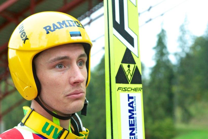 Kaarel Nurmsalu jäi Austria lennumäel kvalifikatsiooni toppama