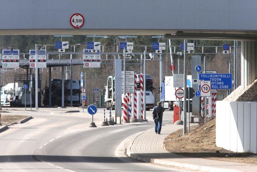 Eluga pääsenud aafriklasest piiririkkujad esitasid Eestile varjupaigataotluse