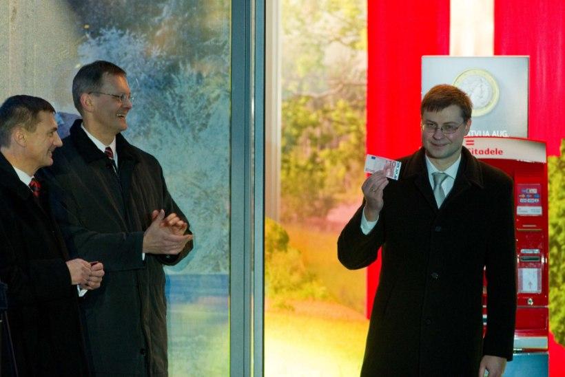Dombrovskis: läti rahvas hindab ladusat üleminekut eurole