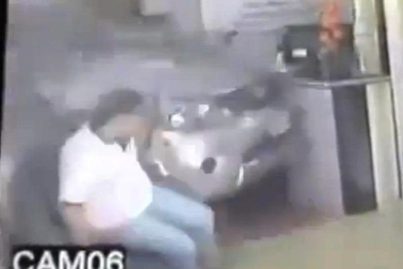 VIDEO: seda ei osanud hotelli vastuvõtus istunud mees ealeski oodata!