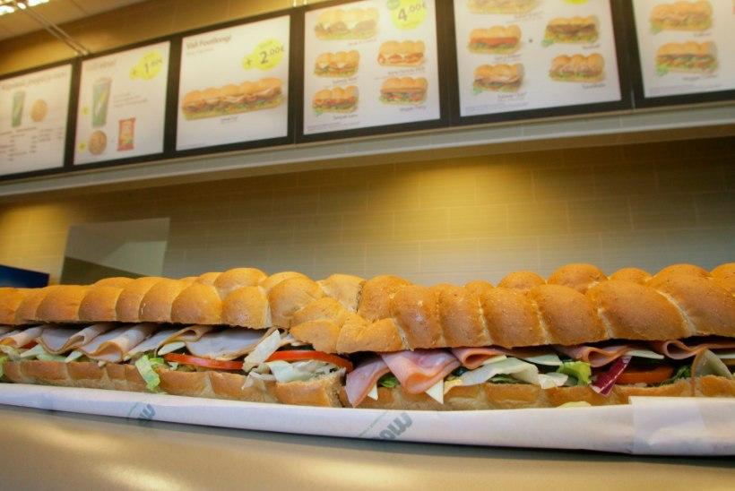 Subway avab Eestis kaks uut võileivarestorani