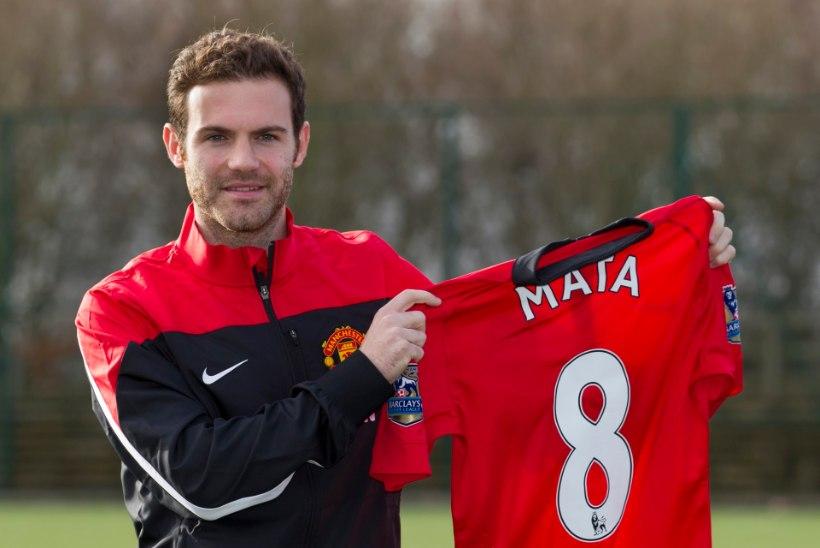 Manchester Unitedi rekordost Mata: pean MMile saama!
