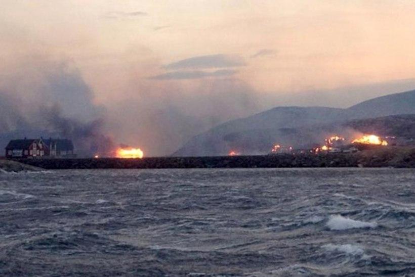 Tuli hävitas Norras kaks küla