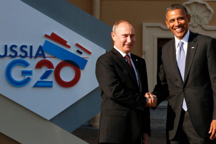 Putinile pakuti kihlvedu Obamaga. Venemaa president keeldus