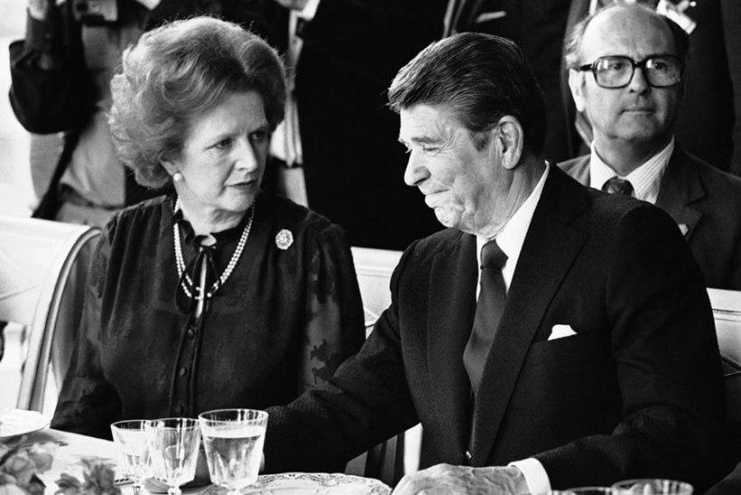 Helisalvestis Thatcheri ja Reagani tülist Falklandi sõja pärast oli punkbändi vemp