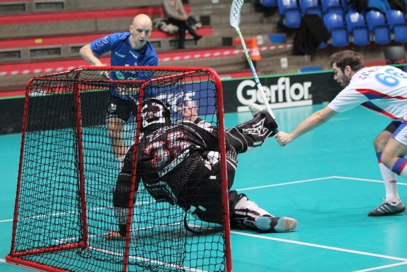 Eesti saalihokikoondis alustas MM-valikturniiri raske võiduga Serbia üle