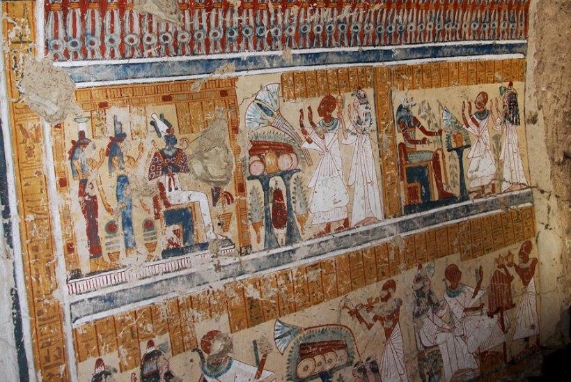 Luxoris leiti 3000-aastane õllepruulija hauakamber