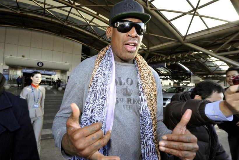 Dennis Rodman viib endised NBA staarid Põhja-Koreasse mängima