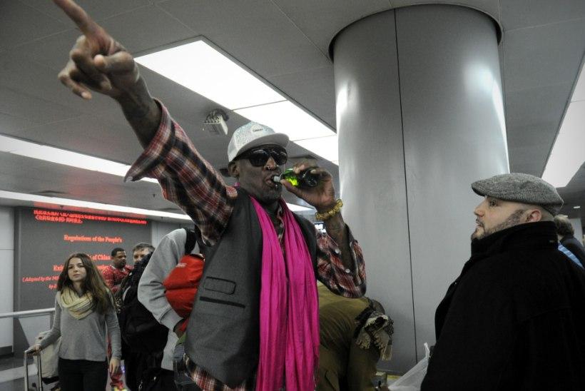 Sport või poliitika? Dennis Rodmaniga tuleb Põhja-Koreasse kaasa vasakäärmuslasest täpsuskütt