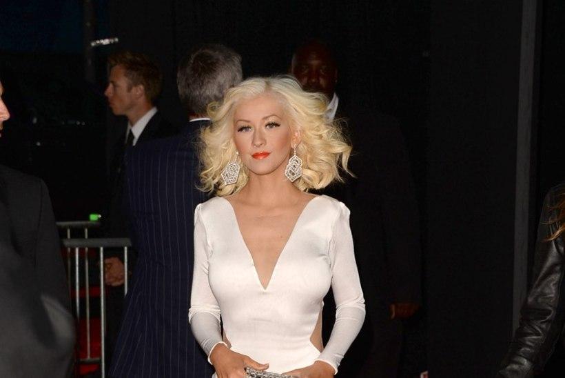 Range dieet ja karm trenn tegid Christina Aguilerast piibuorgi