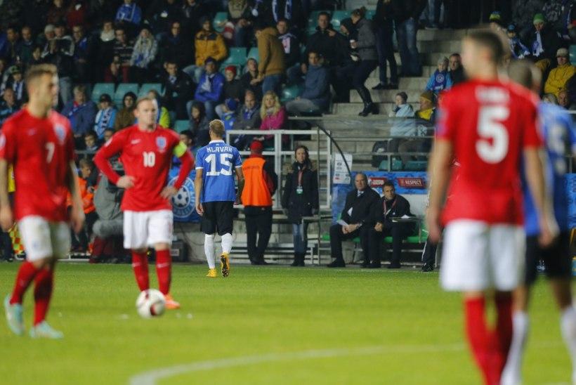KURB: Kümnekesi võidelnud Eesti kaotas napilt Inglismaale