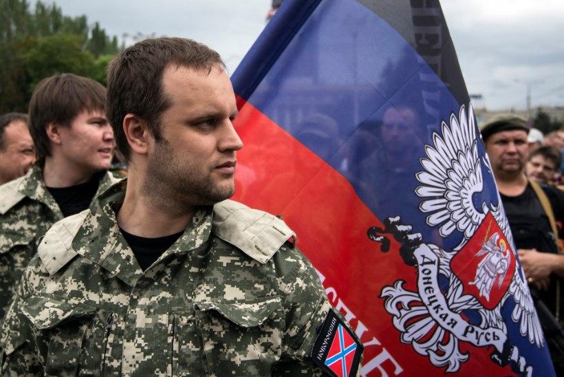 TULISTAMINE JA AVARII: Ukraina venemeelsete liider Gubarev sai raskelt viga