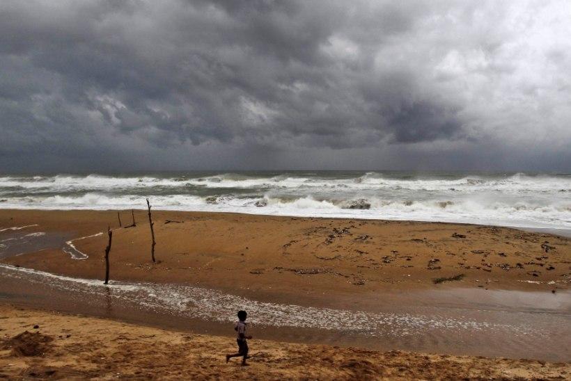 Tsüklon Hudhud võttis Indias kaheksa inimelu