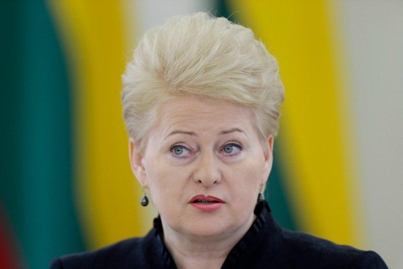 Grybauskaitė kiitis reageerimisjõude
