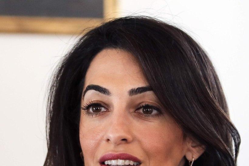 Clooney abikaasa võttis mehe nime