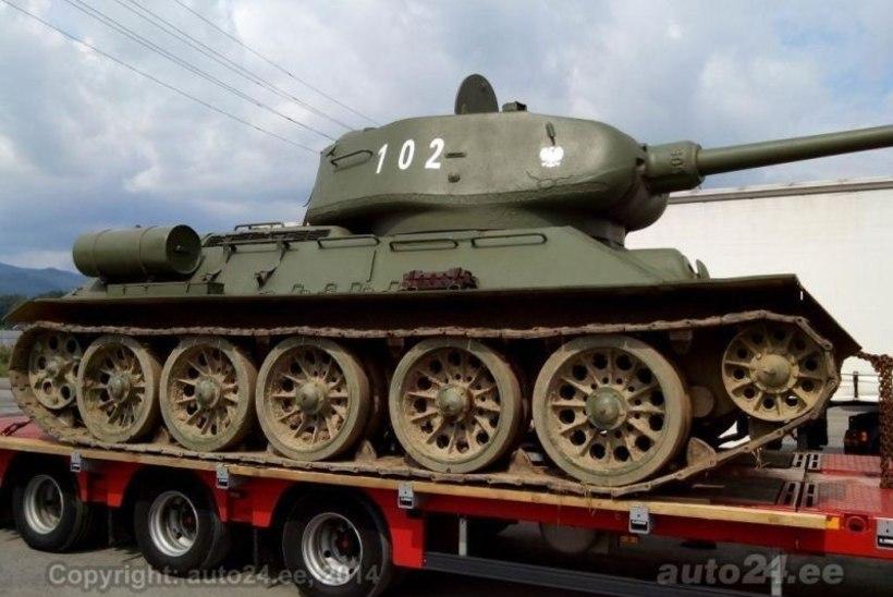 Vene tank kipub Eestisse