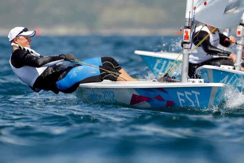 Karl-Martin Rammo purjetab medalisõidus
