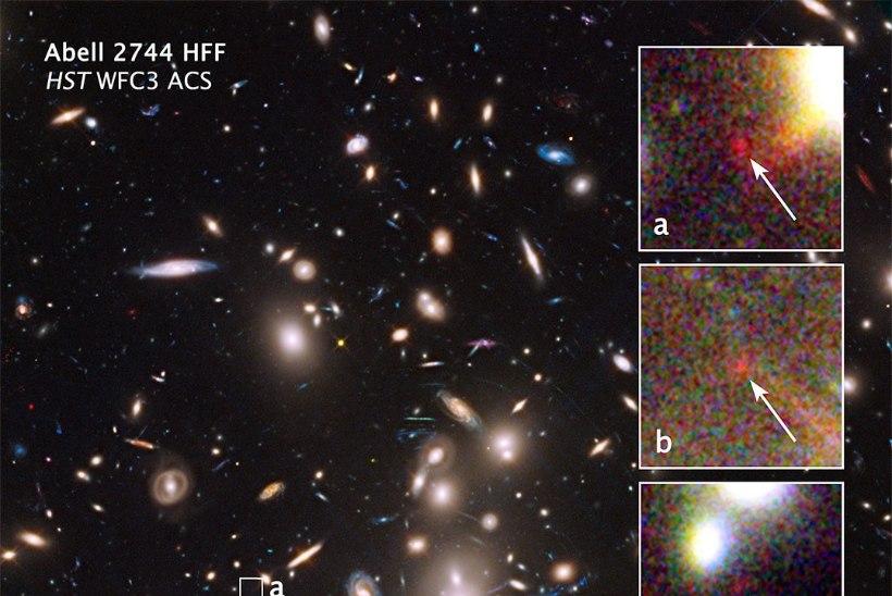 Avastati Maast ülimalt kaugel asuv galaktika