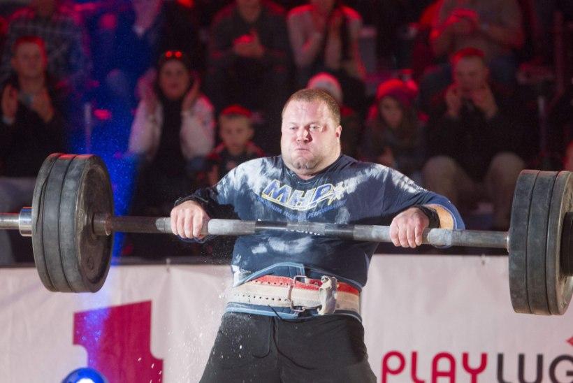 Isikliku kiviga võistelnud Rauno Heinla võitis Tallinnas MK-etapi