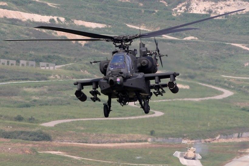 USA õhudessantväelased harjutavad helikopteritega Murru vangla vallutamist
