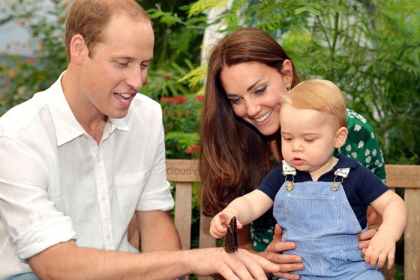 Hertsoginna Catherine'i ja prints Williami teine laps sünnib aprillis