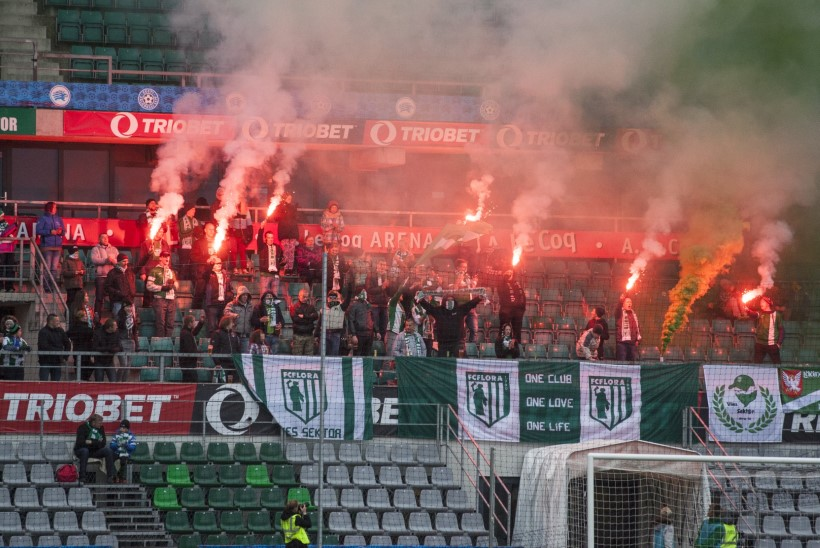 FC Flora siht 2015. aasta hooajaks: publikuarv 1000+!